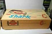 1961 Remco Shark Toy High Speed Racer Control Tether Battery Powered No 610