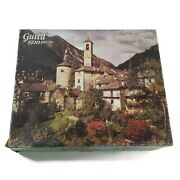 Whitman 4667-33 Swiss Courtyard Guild 1500 Piece Jigsaw Puzzle Age 12 And Up