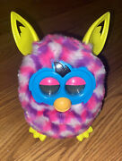 2012 Furby Interactive Toy Pink/purple/white/blue/yellow.
