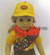 Scout Shirt Pants Shoes For 18 American Girl Boy Doll Clothes Accessories 🐞
