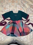 Well Dressed Wolf Wdw Jingle Bells Christmas Holiday Dress Size 12 18 24 Months