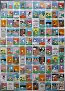 Charles Schultz Peanuts Uncut Trading Card Press Sheet Snoopy Charlie Brown Lucy