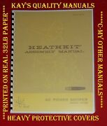 Heathkit Hp-24 Power Supply Assembly Manual 😊c-my Other Manuals😊