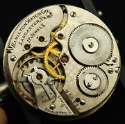 Hamilton 972 Pocket Watch Movement All Parts - Choose From List