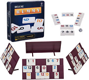 Rummy 106 Tiles Rummy With 4 Sturdy Racks Instructions Rummy Tiles Iron Box Sui