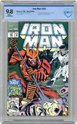 Iron Man 281 Marvel Cbcs Not Cgc 9.8 1st Appearance - War Machine Armor In Cameo