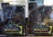 Dc Unlimited - World Of Warcraft Premium Series 1 - Full Set Of 2 Figures