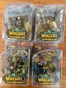 Dc Unlimited - World Of Warcraft Series 2 - Full Set Of 4 Figures