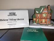 Department 56 Heritage Village Christmas Dickens Browning Cottage 5824-6 In Box