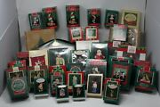 Hallmark Christmas Ornament Collection, 45+ Ornaments, 1982-2007 , Used