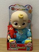 """Cocomelon Musical Jj Bedtime Jj 10"""" Soft Plush Doll Brand New In Hand Sold Out"""