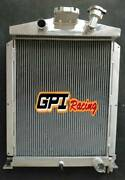 Aluminum Radiator For Ford Truck/pick Up Pickup 1938-1939 36 With Ford V8 Engine