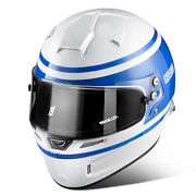 Sparco Air Pro Rf-5w 1977 Fia Approved Race Rally Motorsport Helmet Andndash Blue
