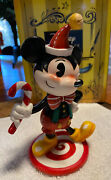 Disney World Of Miss Mindy Mickey Minnie Mouse 2019 Christmas Edition Figurines