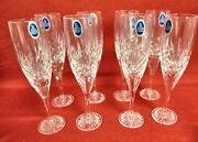 Royal Doulton Westminster Clear Champagne Flute - Set Of 8 - Mint