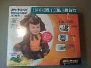 New Avermedia Dvd Ezmaker Pci Turn Home Videos Into Dvds - Factory Sealed