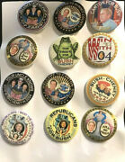 George W Bush/ Cheney 2004 Election Campaign Political Button Lot Of 20 Jh073