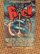 2013 Rock Legends Cruise Ii Poster - Foreigner, Paul Rodgers, Ccr, Kansas, Ars