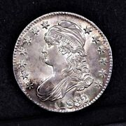 1832 Bust Half Dollar - Small Letters - Unc Details 34443
