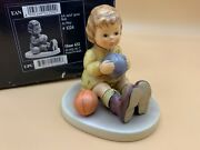 Hummel Figure 632 I Game Gern Ball 3 1/2in 1 Choice - Boxed - Top Condition