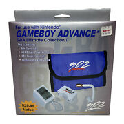 3d2 Nintendo Gameboy Advance Gba Ultimate Collection Ii Accessory Pack Bag Lamp+