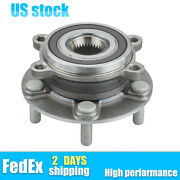 For 2013-2017 Mazda 6 Cx-5 New Front Left Or Right Wheel Hub And Bearing Assembly