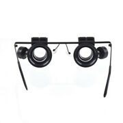 2021 New 20x Magnification Glasses Type Watch Repair Magnifier With Led Light