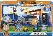 Rusty Rivets Rivet Lab Playset [spin Master Kids Tv Show Workshop Ages 3+] New