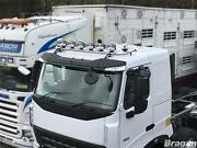 To Fit Volvo Fmx 13-21 Day Standard Roof Light Bar + Jumbo Spots + Clear Beacons