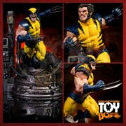 Iron Studios Wolverine Legacy Replica Statue Sideshow 300 Made Open For Inspect
