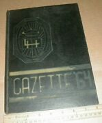 1964 Lock Haven High School Vtg Old Yearbook Clinton County Pennsylvania Pa