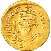 [857387] Coin Phocas Solidus 607-610 Constantinople Ms Gold Sear620