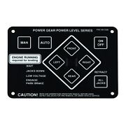 Lippert 359080 Touch Pad Auto Control For Power Gear Hydraulic Leveling Systems