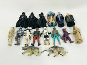 Lot Of 16 Star Wars Saga Collection Empire Scoundrels Sith Bounty Hunter Figures