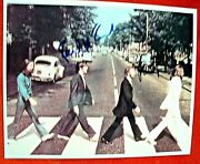 Beatles Abbey Road Photo Signed By Paul Mccartney And Ringo Starr