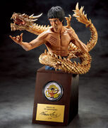 Bruce Lee 75th Anniversary Pure Gold Official Color Silver Coins Limited Figure