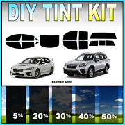 Diy Precut Window Tint Kit Fits Any Subaru 2000-2021 Any Shades All Windows Full