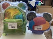 Aulani Loungefly Shave Ice Bundle - Backpack And Crossbody - In Hand Ships Asap
