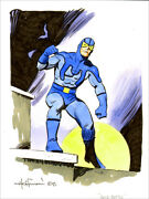 Mike Hoffman Male Superhero Commission In Color You Choose The Character