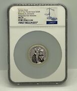 2019 Britannia And Germania Allegories 5 Oz 25 Mark Ngc Ms 70 First Releases