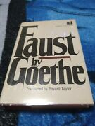 Goethes Faust By Johann Wolfgang Von Goethe Complete Edition