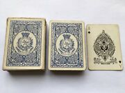 Cww1 Vintage Army And Navy Club Goodalls Linette Playing Cards