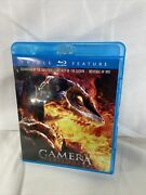 Gamera Trilogy 2011-a Slightly Scratch Left For One Disc- Still Great