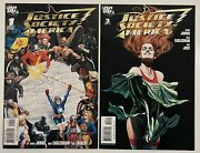 Justice Society Of America 1 And 3 Lot, Vf/nm, 1st Maxine Hunkel And Cyclone, Dc