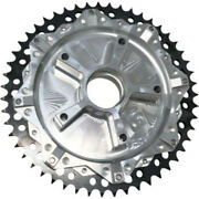 Alloy Art 51 Tooth Black Cush Drive Chain Conversion Sprocket Harley Touring 09+