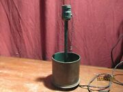 Wwii Artillery 90mm M19 Shell Trench Art Decorative Lamp Needs Rewired