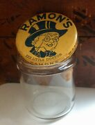 Vintage C.1930's Ramon's The Little Doctor Advertising Apothecary Counter Jar