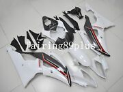 Pearl White Gray Abs Plastic Injection Mold Fairing Kit Fit For 2008-2016 Yzf R6