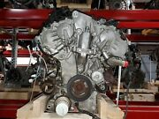 Engine Out Of A 2014 Nissan Pathfinder 3.5l Motor With 74,600 Miles