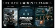 Assassin's Creed Valhalla Ultimate Edition Ps4 With Preorder Bonus